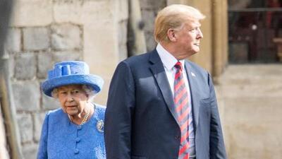 ¿Donald Trump ha aprendido algo del protocolo inglés? Muy pronto volverá a encontrarse con la reina Isabel II