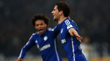 Schalke se reencuentra con el triunfo ante el Gladbach y se sitúa cuarto en la Bundesliga