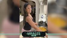 Ella es la hija de Muhammad Ali y así cocina en la cuarentena