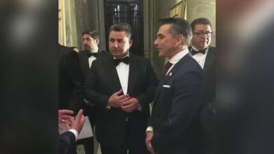 Sergio Mayer aclara por qué posó en una foto junto a un líder religioso acusado de tráfico humano y violación