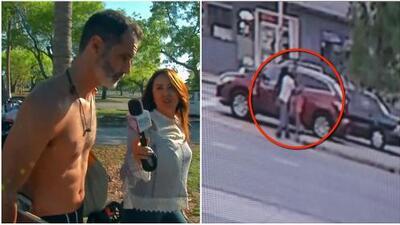 Exclusiva: así se comportó el cuñado de Pablo Lyle al estar por primera vez ante una cámara de TV tras el incidente