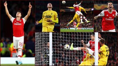 Gabriel Martinelli, la revelación del Arsenal en la Europa League