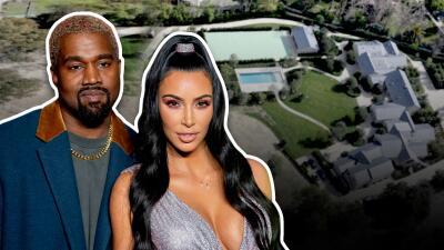 Así es la enorme mansión en la que Kim Kardashian y Kanye West se gastaron más de $20,000,000 remodelando