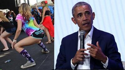 Obama critica la actitud de los raperos por el 'twerking'