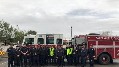 San Antonio Fire Department sending their best to fight California fire