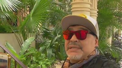¡Un frase completita, Diego! 'Al Ángulo' estuvo fuerte contra las primeras declaraciones de Maradona