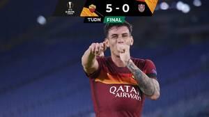 La Roma vence sin problemas al Cluj y domina el Grupo A