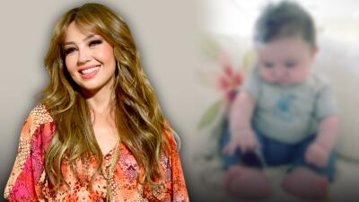Con dos fotos que nunca antes había publicado, Thalía celebra el cumpleaños número 8 de su hijo Matthew