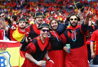 Atmósfera de fiesta en la Eurocopa 2016