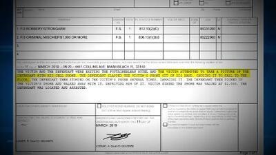 Conor McGregor fue arrestado por la policía de Miami Beach en el Hotel Fontainebleau por atacar a un fanático