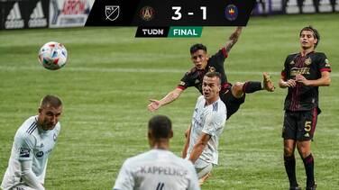 Antológico golazo de Ezequiel Barco impulso la victoria de Atlanta United