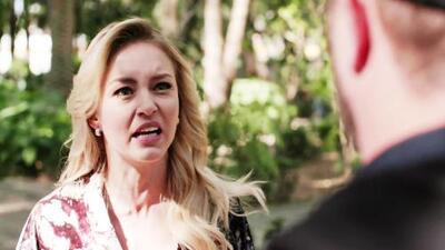 Lucía descubrió que Jacobo ha enviado los mensajes que revelan su traición a León