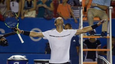 Rafael Nadal venció a Nishioka y enfrentará a Cilic en semifinales del Abierto Mexicano