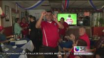 Duelo de pasiones entre fanáticos de Chile y Colombia