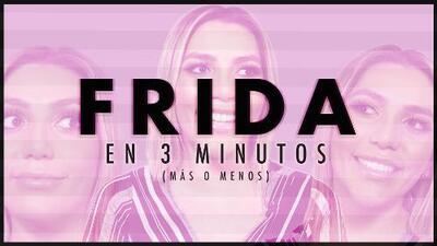 8 preguntas en 3 minutos: cuando Frida Sofía habla de todo, menos de su mamá