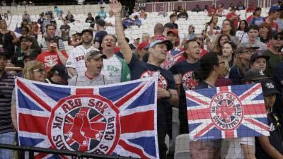 En fotos: la serie Yankees-Red Sox todo un acontecimiento en London Stadium