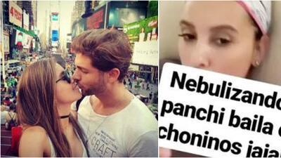 Horacio Pancheri le baila en ropa interior a una Paulina Goto enfermita
