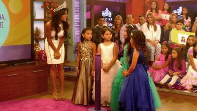 Las Bellecitas respondieron en la ronda de preguntas