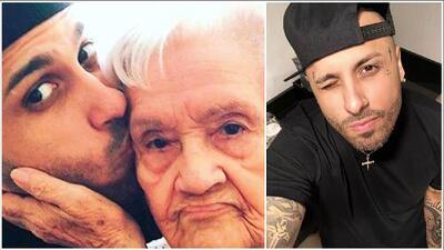 Fallece la abuela de Nicky Jam y él le envía un emotivo mensaje