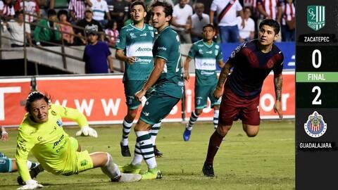 Con marcador de 0-2, Chivas venció al Zacatepec
