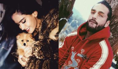 Maluma y su novia esconden su amor, pero este tierno perro los delata