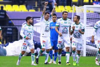 En fotos: León sorprende de visitante al Cruz Azul y le gana 3-2 en la Copa MX
