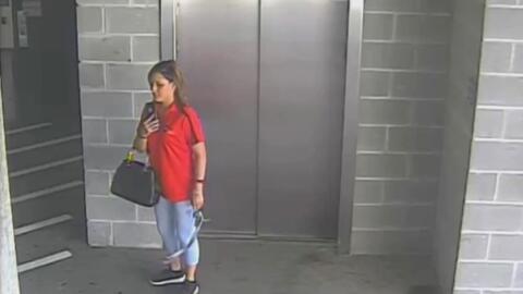 Revelan video de vigilancia en el que se ve por última vez a la madre de Mesquite desaparecida hace varios días