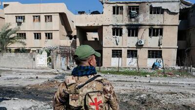 Aliados liderados por EEUU reconocen un ataque áreo en Irak donde murieron varias decenas de civiles