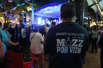 Photos from the candlelight vigil for Jimmy Gonzalez