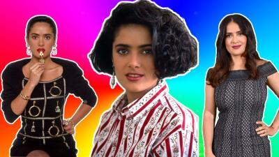 Salma Hayek y sus inicios en las telenovelas