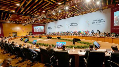 El ataque a Siria y la crisis en Venezuela marcan el cierre de la Cumbre de las Américas