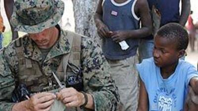 En guerra humanitaria en Haití
