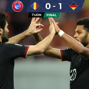 Alemania sacó sufrido triunfo ante Rumania con gol de Gnabry