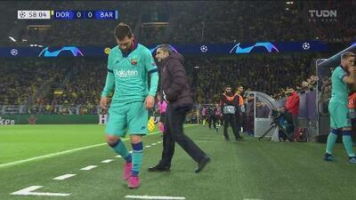 Lionel Messi regresa en Champions League tras lesión