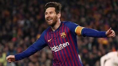 En fotos: Lionel Messi y los 10 máximos anotadores en Europa en la Temporada 2018-2019