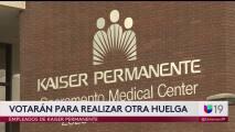 Empleados de Kaiser Permanente votarán para realizar otra huelga