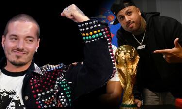 Así fue como Nicky Jam logró 'colar' a J Balvin en el cierre del mundial