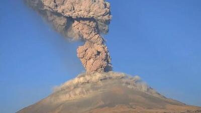 México eleva la alerta por la actividad del volcán Popocatépetl