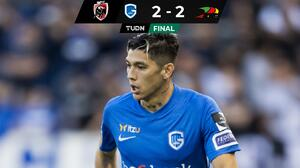 Gerardo Arteaga jugó seis minutos en el empate del Genk ante el KV Oostende