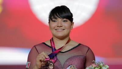 ¡Histórico! Alexa Moreno, primera gimnasta mexicana con medalla mundialista