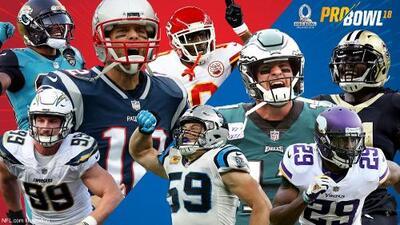 NFL anuncia los equipos para el Pro Bowl 2018