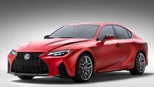 Lexus IS 500 F Sport Performance: el nuevo sedán deportivo con motor V8