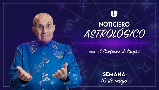 Noticiero astrológico: semana del 10 al 16 de mayo