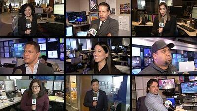 Compañeros de Noticias Univision 41 recuerdan a Luis Gómez