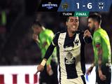 Humillante goleada de Rayados en casa de FC Juárez