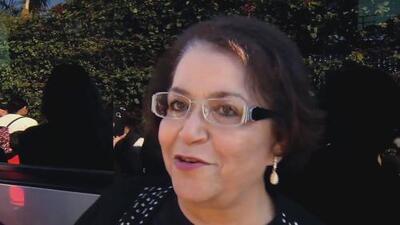 Rosa Saavedra agradeció que seguidores de Jenni Rivera la homenajearan sembrando árboles