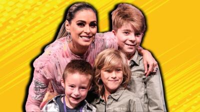 Galilea con sus tres hijos y todo lo demás que no viste en Pequeños Gigantes
