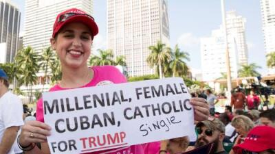 Los 'millennials' e hispanos que no te imaginas que votarán por Trump