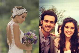 ¡Su boda llegó! Ellos se casaron en el 2014