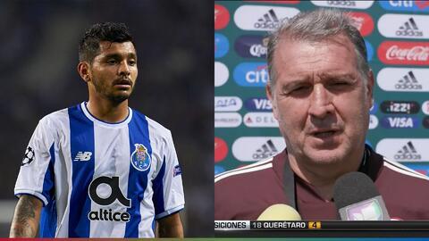 'Tecatito' parece no querer jugar con la Selección Mexicana y tiene enojado al 'Tata'